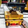 转运电缆盘45吨转弯轨道平板车 铅包轨道车