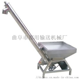凌源市不锈钢面粉吸料机 塑料粉末螺旋提升机78