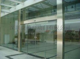惠州自动感应玻璃门 专业定制