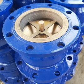鋼體消聲止回閥法蘭焊接止回閥