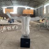 肌肉人像雕塑厂家 江门校园人物雕像