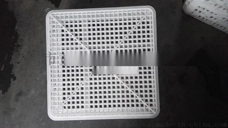 纺织塑胶周转筐 网眼周转箱 蚕茧纺织筐