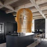 原木創意燈 北歐簡約木質燈 實木創意吊燈