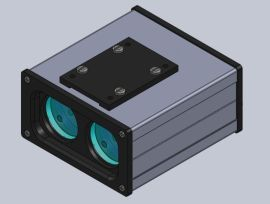 **美国艾普瑞APRESYS激光测距传感器DLS-R2500|2500米测距仪