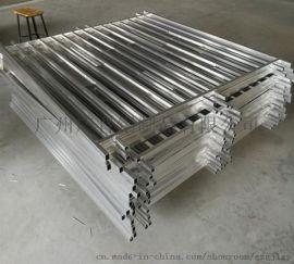 佛山焊接加工 铝合金防护栏加工 广晋铝制品