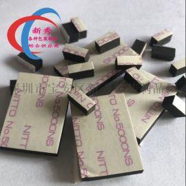 厂家供应eva黑色泡棉双面胶垫模切冲型强力减震防滑