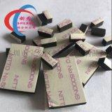 廠家供應eva黑色泡棉雙面膠墊模切衝型強力減震防滑
