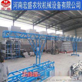 河南省宏盛专业生产定做全自动喂料机让你轻松养殖