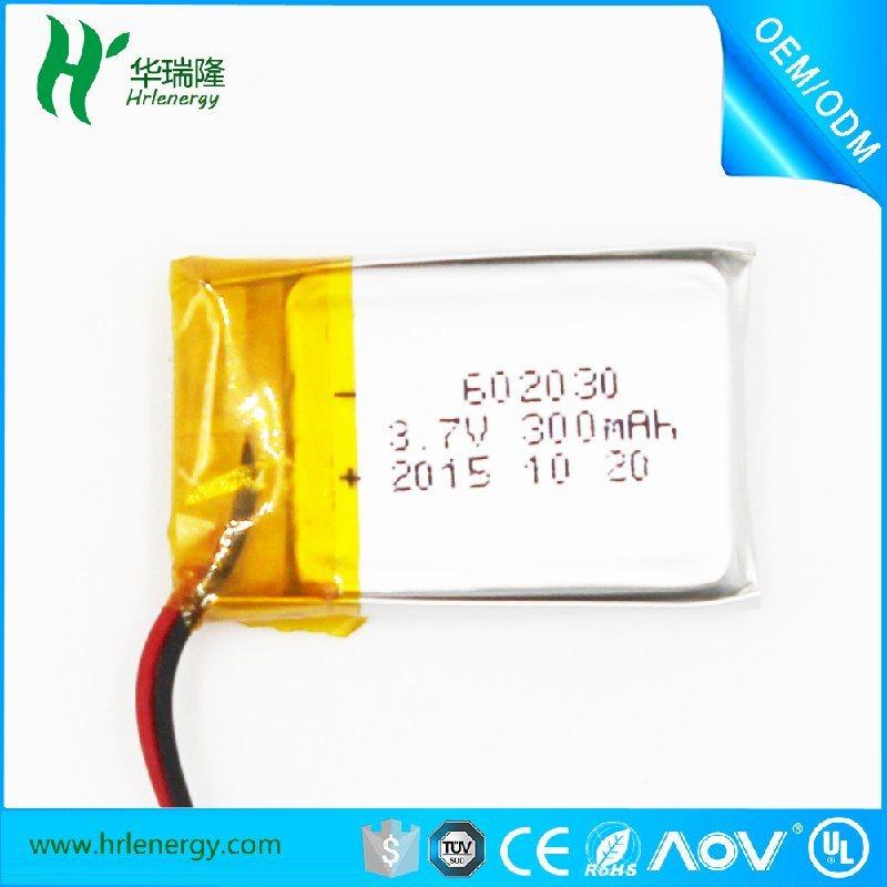 聚合物**电池工厂 602030-300mah 电池