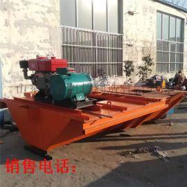现浇式渠道成型机 渠道自动成型机 现浇水渠道衬砌机