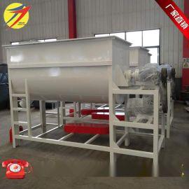 四川卧式饲料搅拌机 散养鸡饲料混合拌料机 畜牧养殖混合设备厂家