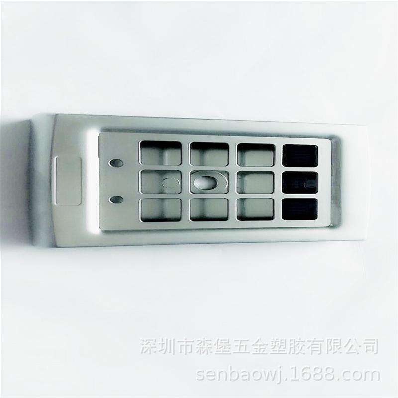 廠家定製鋅合金壓鑄件精密鑄造鋁合金指紋鎖外殼五金壓鑄模具批發