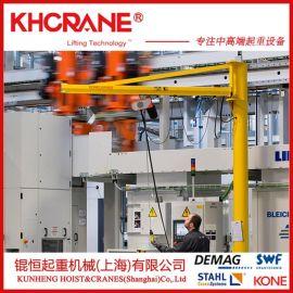 车间仓库上料机2吨电动悬臂吊2吨德马格电动葫芦配件工位小吊机