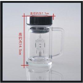 双层玻璃口杯-798