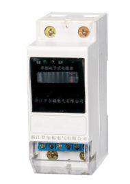 厂家直销单相导轨式电能表DDS5881/2P计数器显示/卡轨式电能表