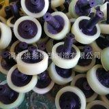 聚氨酯包膠輪定做 高耐磨聚氨酯包膠輪 機械用優力膠包膠輪