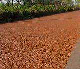 供應彩色生態透水混凝土地坪園林景觀道路施工流程透水地坪工藝指導彩色透水混凝土