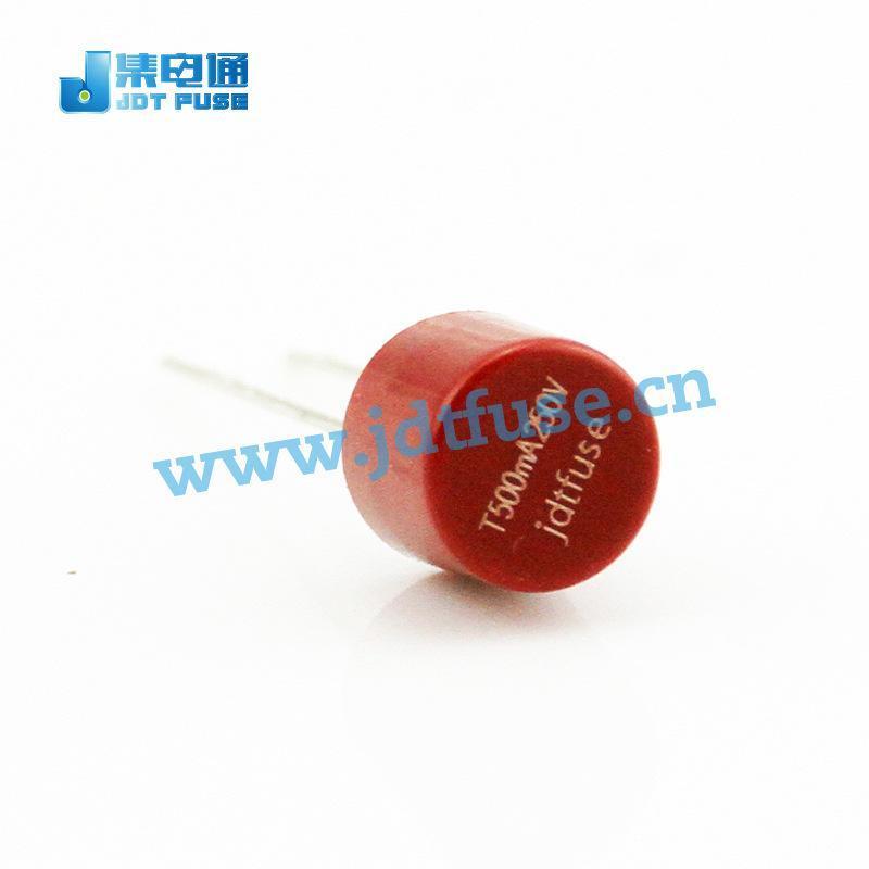 382微型保險絲JFR0500TR 0.5A 250V 圓柱形塑封保險絲