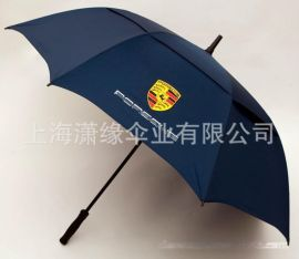 碳纤维伞架高档双层高尔夫伞广告伞雨伞定做厂家 上海工厂