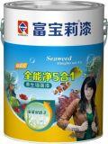 中国十大健康漆品牌 中国十大环保涂料富宝莉漆海藻泥五合一墙漆