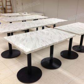 餐台 大理石餐桌 石英石餐台 白色大理石餐桌