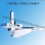 深圳自动化机械手 注塑机专用机械手 三轴伺服大型横走式机械手