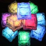 热卖新型酒吧气氛用品led发光冰块灯 防水RGB七彩灯