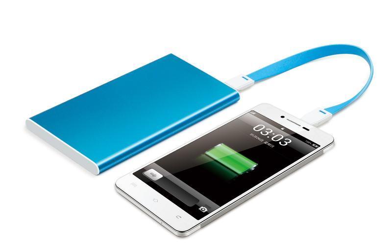 2015新款移動電源4000毫安培  手機充電寶智慧通用迷你型可印LOGO