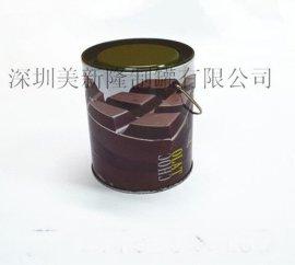 深圳美新隆供应铁罐,铁盒,咖啡罐,马口铁咖啡罐,密封咖啡罐