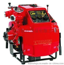 供应日本原装进口VC82ASE东发手抬消防泵 绳拉式真空泵