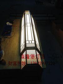 森隆堡灯饰有限公司,专业设计订做不锈钢仿云石壁灯,户外仿云石壁灯,酒店壁灯