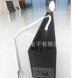 无缝拼接LED办公吊线组合方管灯 全铝方通进口PC罩 质保5年