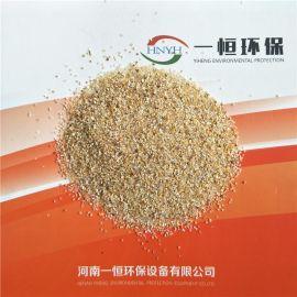 供应V型滤池天然石英砂滤料高效水过滤一恒