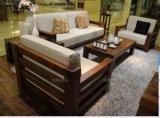 黑胡桃木沙發組合客廳家具綠林木語品牌北美黑胡桃實木家具廠家