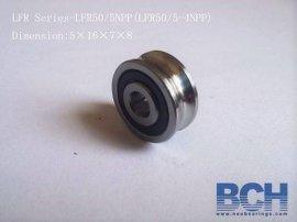 厂家供应LFR50/4KDD/NPP非标U型滚轮轴承
