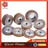 不锈钢铝合金打磨千页轮 平面卡盘千叶轮 钢管表面处理抛光砂布轮