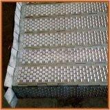 山東華興直銷異型鏈板 半連孔式不鏽鋼雙重防滑鏈板