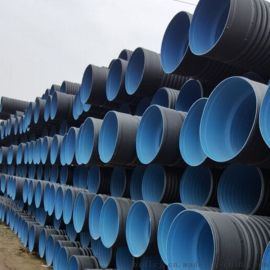 供应HDPE大口径波纹直径500mm排水管直销