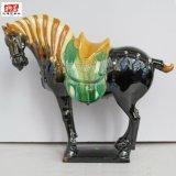 鄭州高檔唐三彩馬擺件 鄭州陶瓷馬工藝品