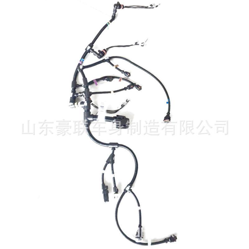 一汽解放配件 小J6 發動機線束 國五 國六車 圖片 價格 廠家