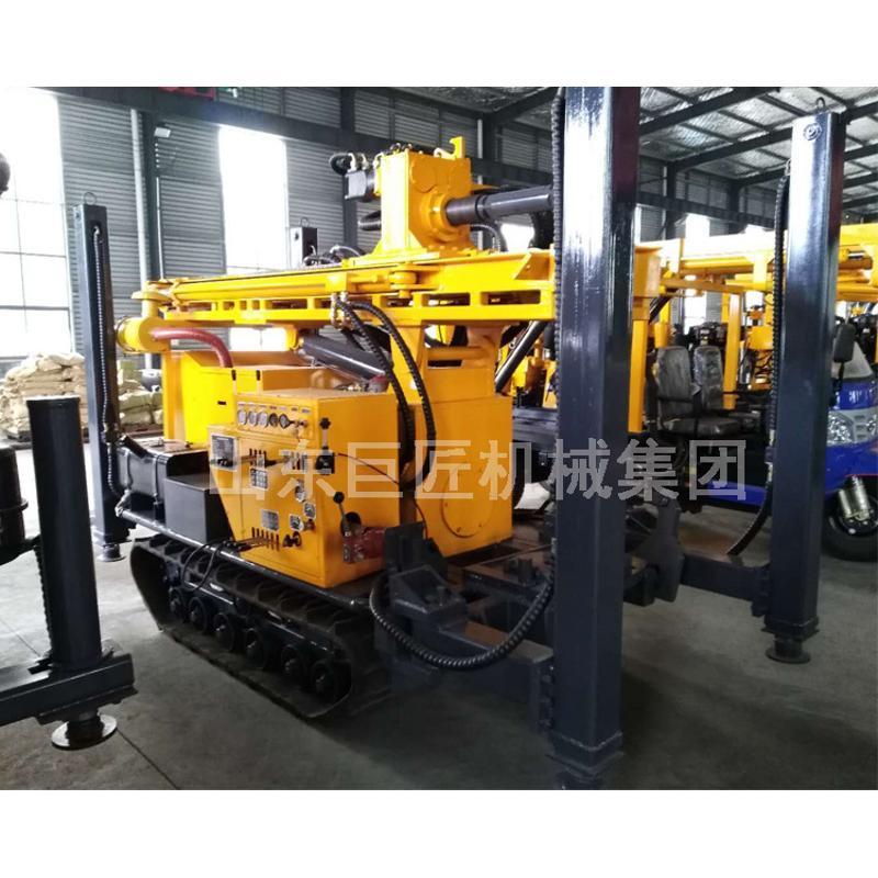 巨匠200型橡膠履帶氣動鑽井機 民用氣動鑽機設備水井鑽機打深水井