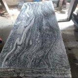 浪淘沙幻彩麻石材生产厂家 天然山水岩地铺干挂专用灰色花岗岩
