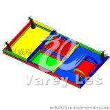 供應充氣沙池/兒童水池/PVC水池/方形水池/沙灘玩具決明子