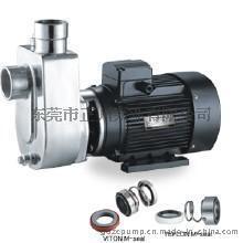 广东不锈钢泵厂家    耐腐蚀ZFX不锈钢泵   40ZFX-18直联式不锈钢自吸泵
