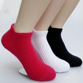 外贸  运动袜  毛巾底女袜  纯棉袜子