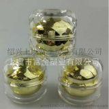 【热门产品】厂家直销 30g**亚克力水晶钻石膏霜瓶 球形钻石膏霜瓶