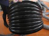 厂家供应涂层布油缸保护套,黑色丝杠防尘套