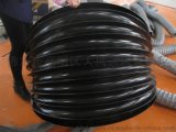 廠家供應塗層布油缸保護套,黑色絲槓防塵套