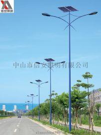 新农村建设太阳能路灯批发,行政亮化工程专用6米LED 厂家批发
