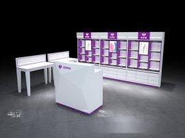 供应化妆品展示柜 化妆品展示柜设计订做 化妆品展示柜整体店面效果图设计